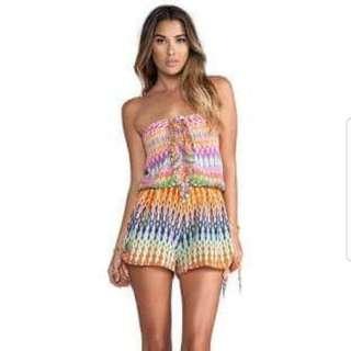 Camilla Lovers Loom silk playsuit seen on Beyonce!