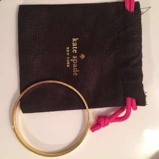 Kate Spade Heart of Gold Idiom Bangle