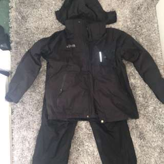 COLOMBIA SKI JACKET AND PANTS