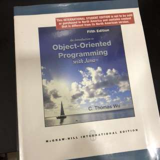 An Introduction to Object-Oriented Programming with Java - Fifth Edition