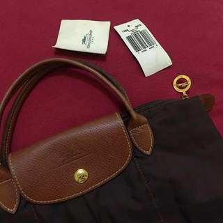 LONGCHAMP Le Pliage Nylon (Tribeca Tote Bento) Hand Bag Small