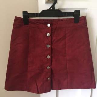 Deep red mini - Size small