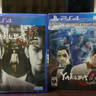 YAKUZA 0 AND KIWAMI BUNDLE