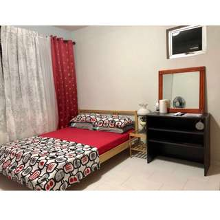 ROOM FOR RENT SHORT TERM (Location: SINGAPORE)