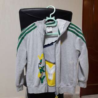 Adidas mickey kid jacket