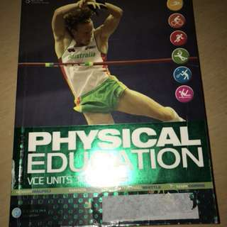 PHYSICAL EDUCATION UNIT 3&4 TEXTBOOK