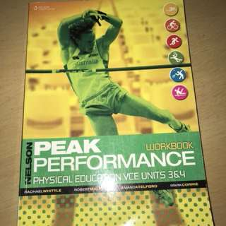 PEAK PERFORMANCE PE WORKBOOK