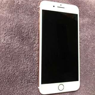 i Phone 7 PLUS 128G 玫瑰金