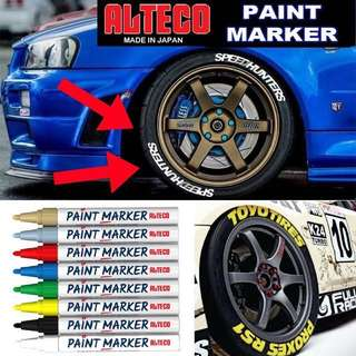 🚗TYRE / TIRE PAINT MARKER🚙