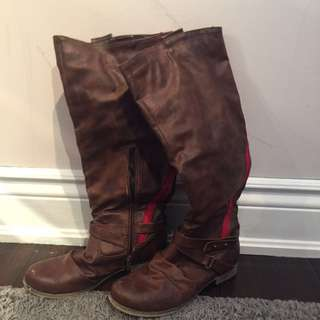 Browns leather boots