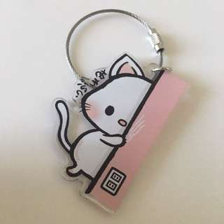 Japan😽cat key chain