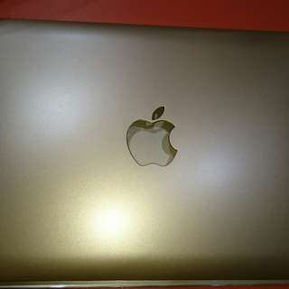 Cover macbook air 11 inch warna GOLD
