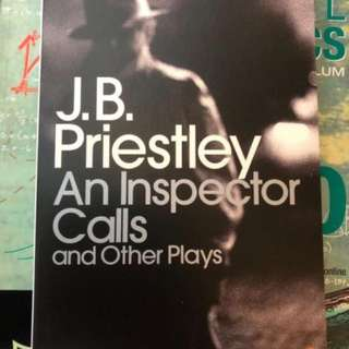 J.B priestly an inspector calls and other plays