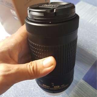 Nikon Nikkor 70-300 ED VR Lense with Warranty