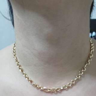 FINAL SALE 18k yellow gold necklace chain only