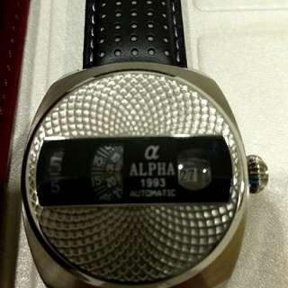 ALPHA自動上鏈錶