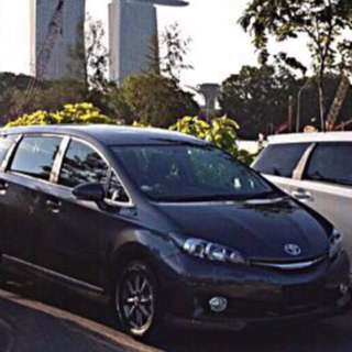 Toyota Wish Auto 1.8 (18months old)