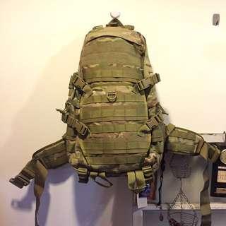 🚚 美軍多地形三日攻擊包 迷彩登山包 30L
