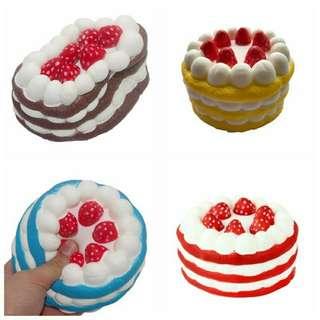 Squishy Birthday Cake