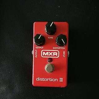 MXR Distortion 3  Price Is Firm
