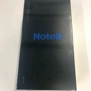 New & Sealed Samsung Galaxy Note 8 SME Set BLACK