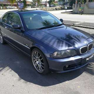 BMW E46 328 CI COUPE 2 DOOR