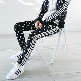 NEW adidas Originals Polka Dot Track Pants