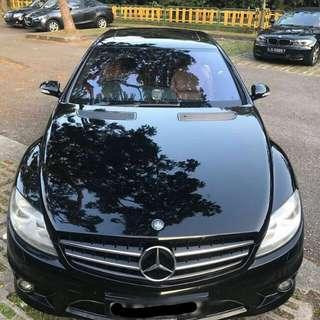 Mercedes CL500 V8 Biturbo