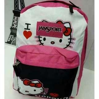 Trendy Hello Kitty Jansport Backpack