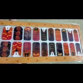 精品🎩🎩全新Titicaca halloween指甲貼