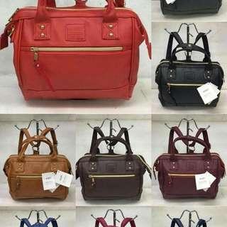 Anello Medium Leather Bag