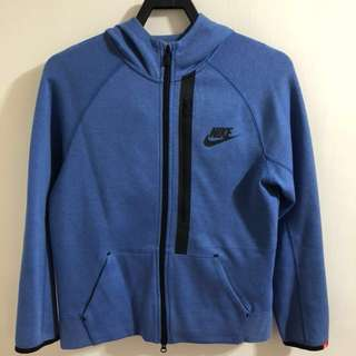 🚚 Nike TECH FLEECE Kids 連帽外套  (藍)-L