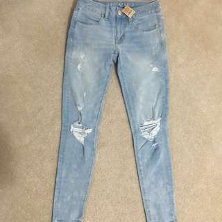 American eagle super stretch jeans