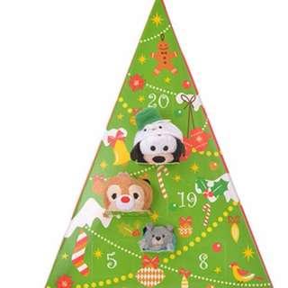 Japan Disneystore Disney Store Christmas TSUM TSUM Disney Character Advent Calendar 2017