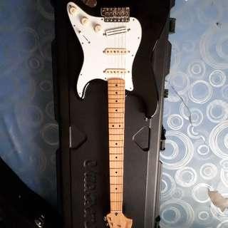 guitar fender jimi hendrix signature