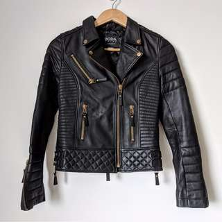 Boda Skins Kay Michaels Napa Sheepskin Leather Jacket