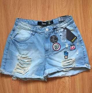 Factorie high-waisted shorts