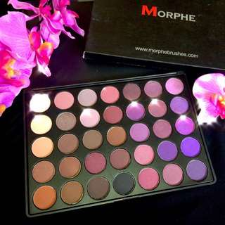 Morphe Eyeshadow Palette 35p