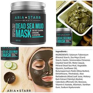 Unisex Dead Sea Mud Mask for Face | 4.5 / 5⭐️ 2685 reviews