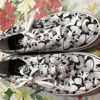 Vans butterfly almost new 6.5