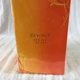 Beyoncé heat rush edt, perfume, 100ml