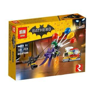 LEPIN 07048 Batman Movie The Joker Ballon Escape