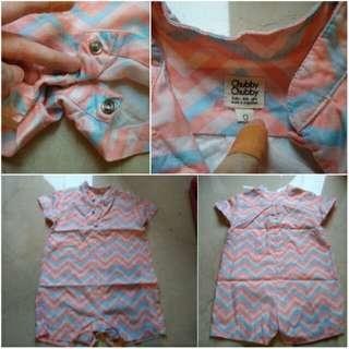Pakaian baby Chubby Batik cheongsam boy/ 0-9mth