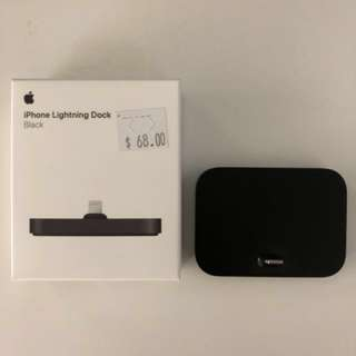 Apple Lightning Charging Dock, Black