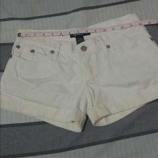 Next Jeans White Shorts