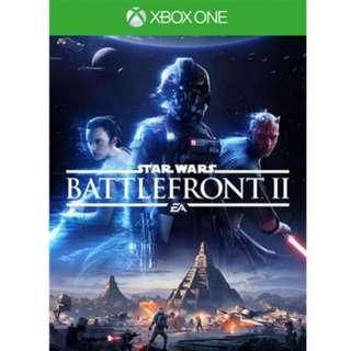 [BNIB] Xbox One Star Wars Battlefront 2 Battlefront II