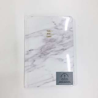 The Paper Bunny : Marble Notebook