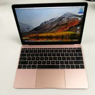Macbook 12 2016 rose gold