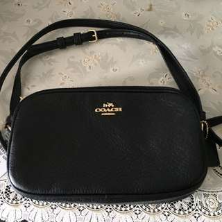 BNWT Coach Leather Sling Bag