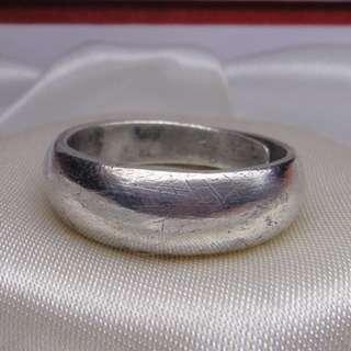 純銀 925 銀 白銀 s925 銀飾 silver 足銀 純銀戒指 925純銀 指環 銀戒指 戒子 8g k金回收